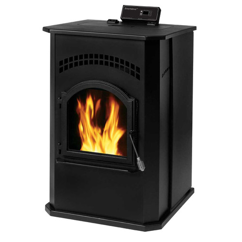 England's Stove Works Smart 2,200 sq. ft. Direct Vent Pellet Stove by