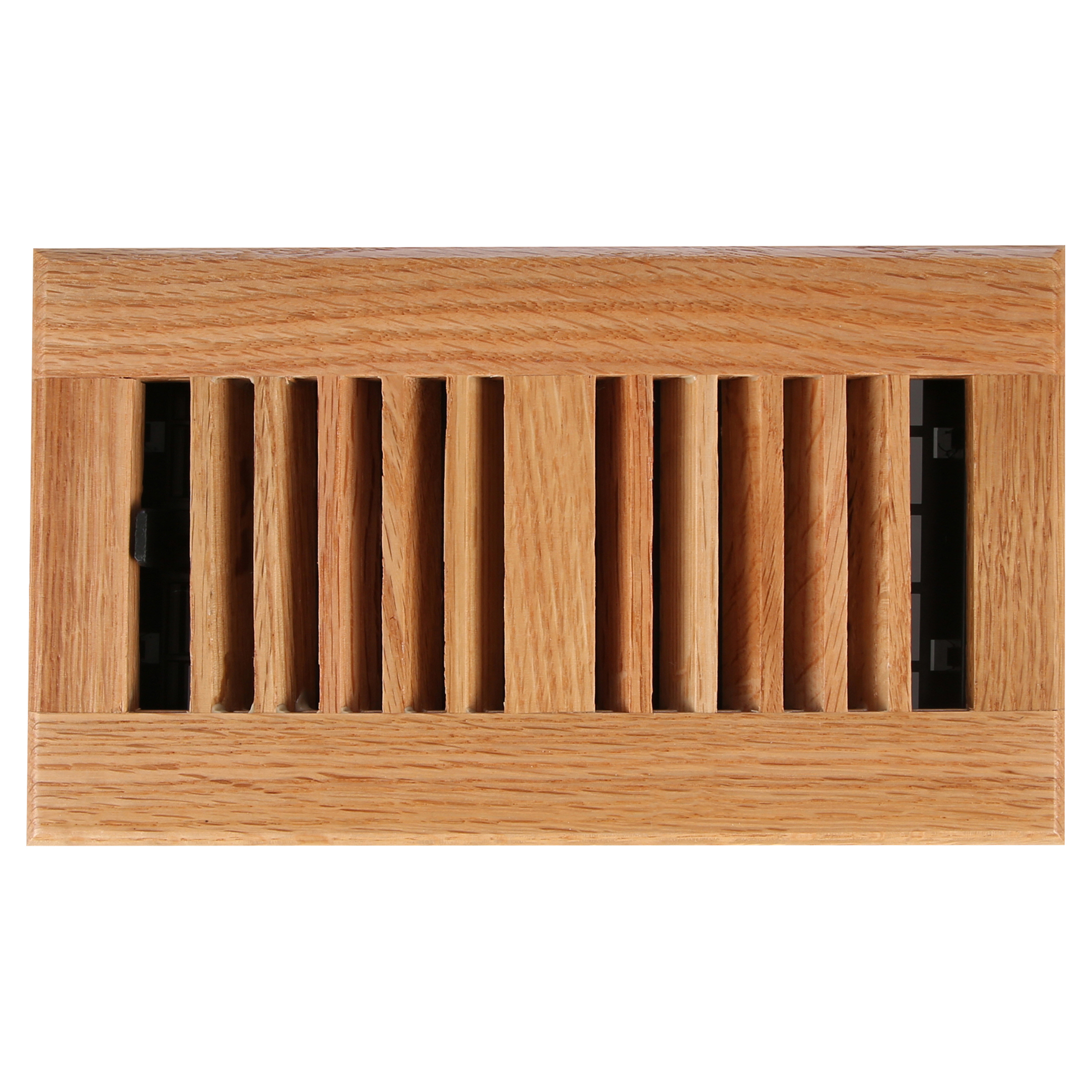 Decor Grates WL408-N Floor Register 4-Inch by 8-Inch Natural Oak