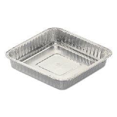 """Handi-foil Aluminum Square Cake Pan, 48 oz, 8 3/4"""" x 1 17..."""