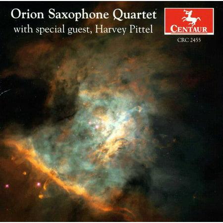 Orion Saxophone Quartet / Various Free Saxophone Quartet Music