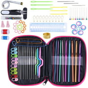 Best Crochet Hooks - 100Pcs Crochet Hook Set Yarn Knitting Needles Sewing Review