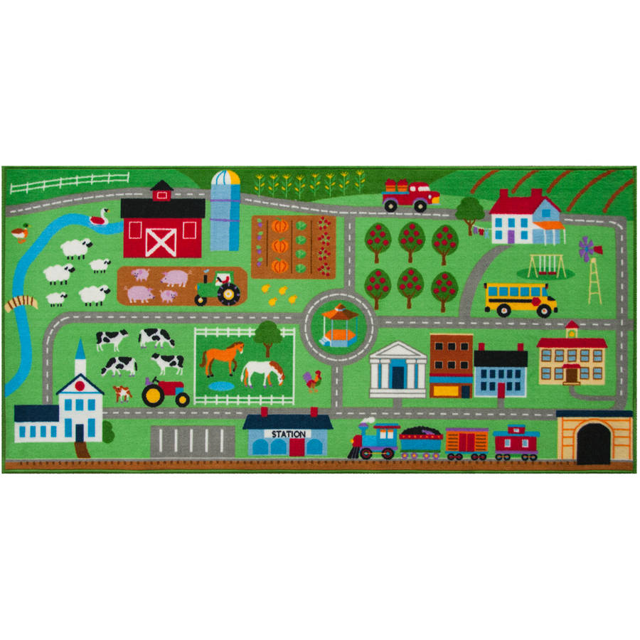 Olive Kids Farm Land Play Rug