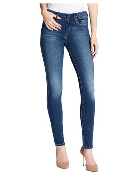 Curvy High-Rise Skinny Jeans