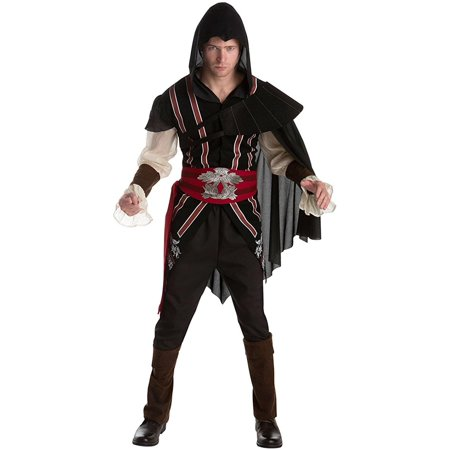 Assassin's Creed Ezio Auditore Classic Adult (Black Flag Assassin's Creed Costume)