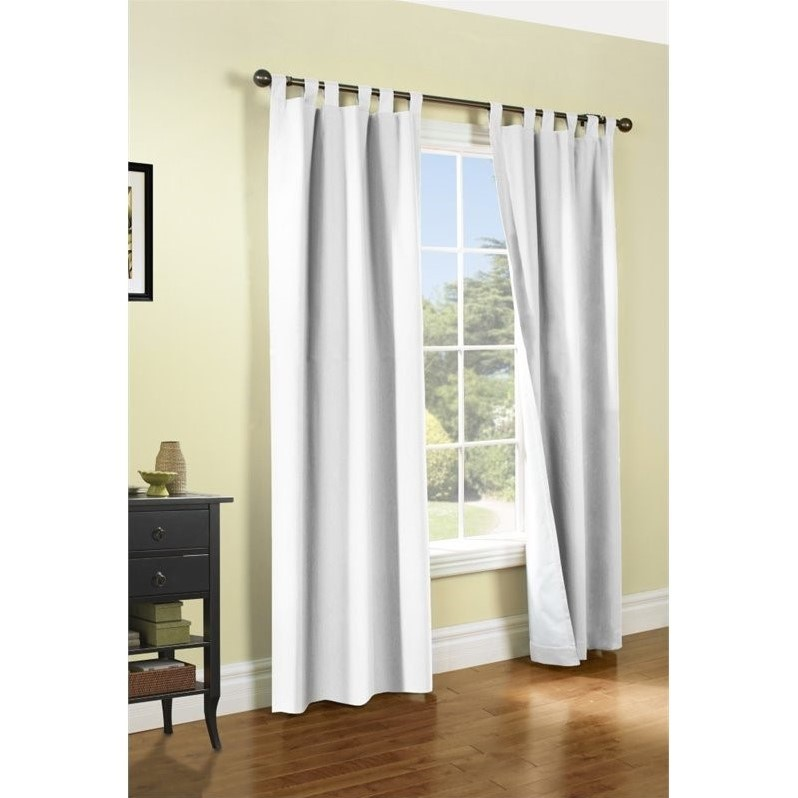 Thermalogic Weathermate Tab Top Curtain Panel - One Pair