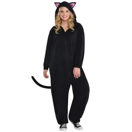 Zipster Black Cat Plus Size Costume
