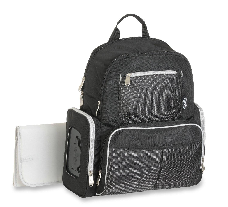 Gotham Smart Organizer System Back Pack Diaper Bag, Black...