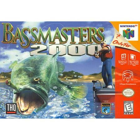 Bass Masters 2000 N64
