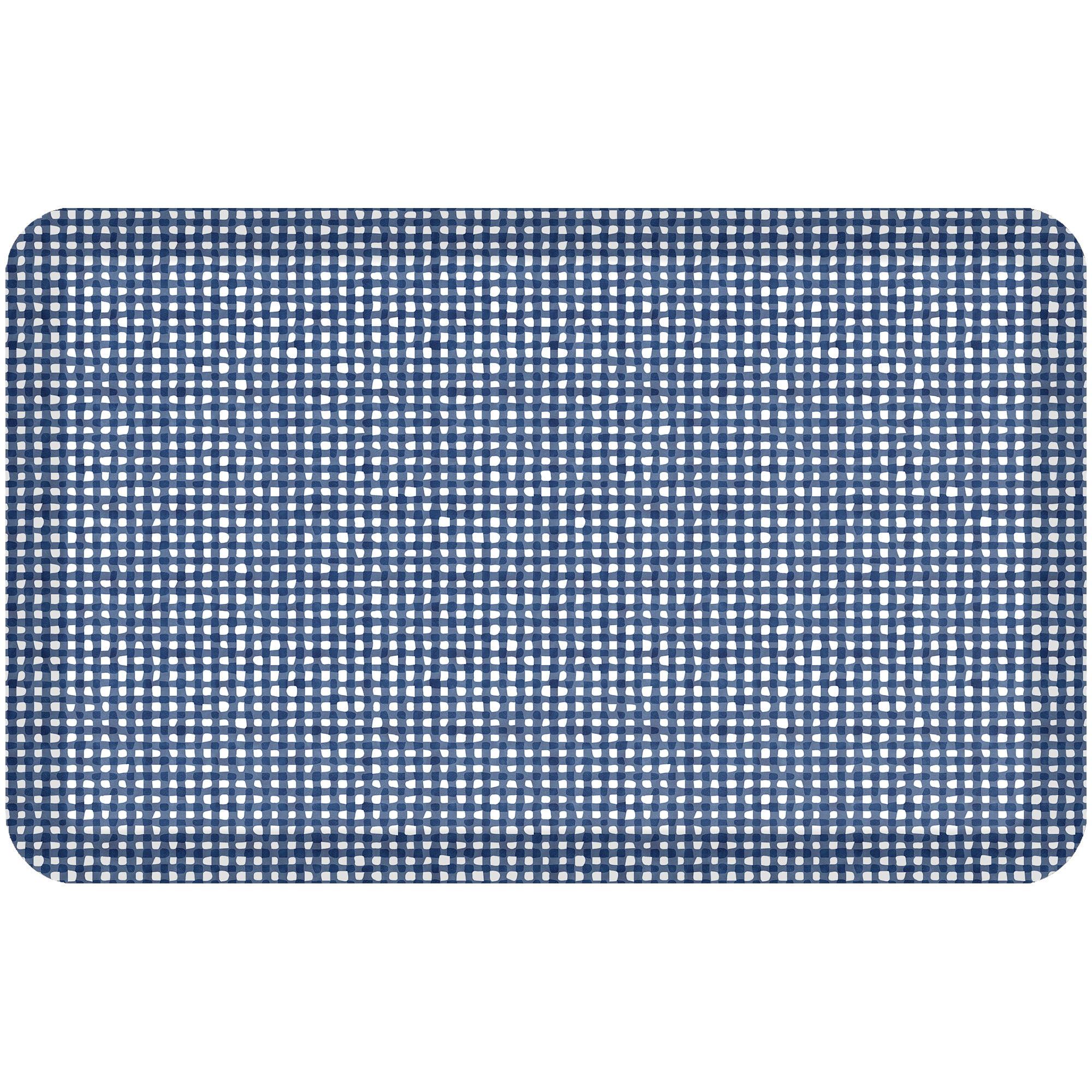 NewLife By GelPro Designer Comfort Kitchen Floor Mat Carlyle Blueberry - 20x32