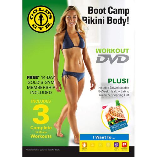 Gold's Gym Boot Camp Bikini Body! DVD