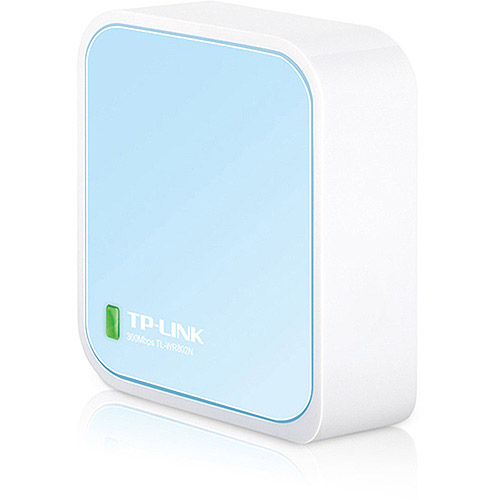 TP-Link N300 Wi-Fi Nano Travel Router with Range Extender Access Point Client Bridge Modes (TL-WR802N) by TP-LINK