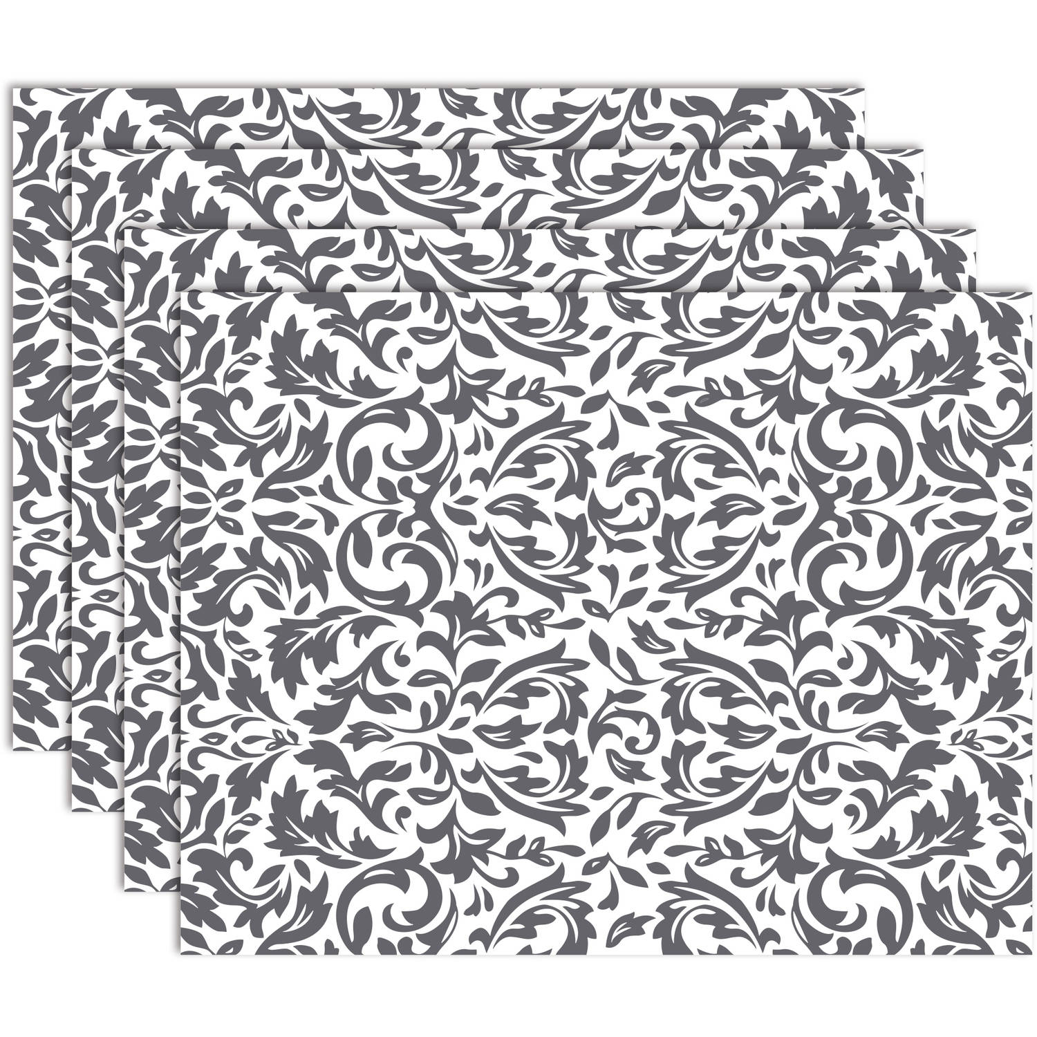 Hotel 4-Pack Royal Placemat, Grey by