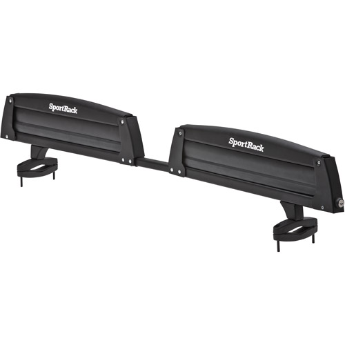 SportRack SR6453 Groomer Deluxe 8 Roof Top Ski and Snowboard Carrier, 4-Snowboards or 8-Pairs of Skis, Black