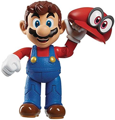 "Super Mario 5/"" Grand Format figurines-Super Mario Odyssey series 2 Set New"
