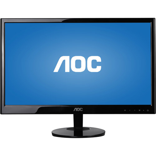 "AOC 20"" Widescreen LED Monitor (e2051Sn Black)"