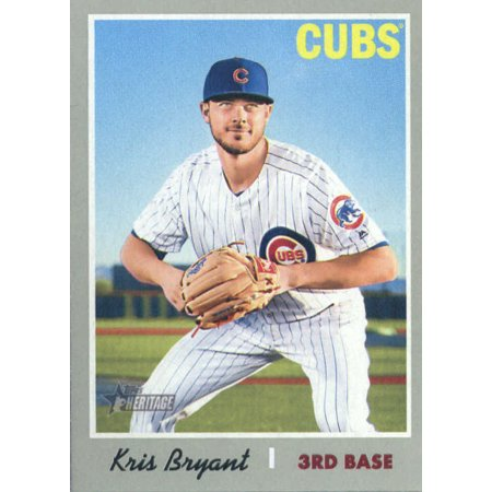 2019 Topps Heritage 404 Kris Bryant Chicago Cubs Sp Baseball Card