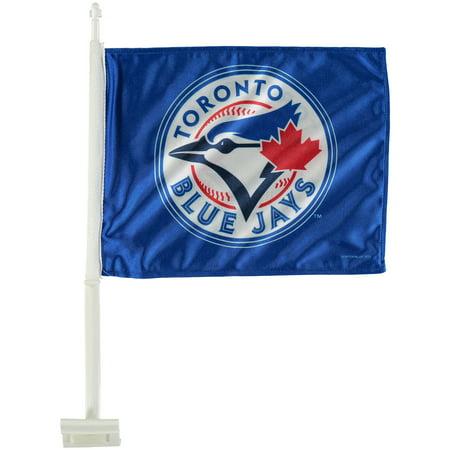 Toronto Blue Jays 11'' x 14'' Logo Car Flag - No Size