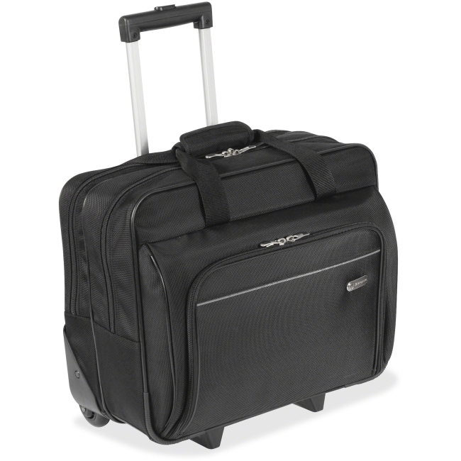 "Targus 16"" Metro Roller Notebook Bag - 16"" Screen Support - Polyester - Black"