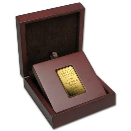 10 Oz Gold Bar   Credit Suisse  W Assay