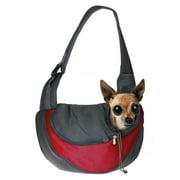 Pet Dog Cat Puppy Carrier Comfort Travel Tote Shoulder Bag, S Size, Red