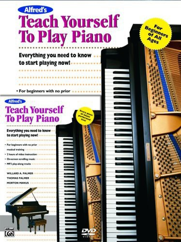 Alfred Alfred's Teach Yourself to Play Piano (Book and DVD) by Alfred Publishing Company