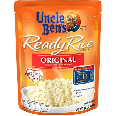 (3 Pack) UNCLE BEN'S Ready Rice: Original, (Original Rise)