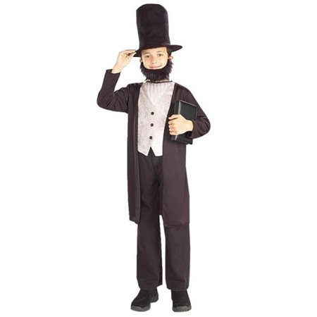 Costumes for all Occasions FM58268MD Abraham Lincoln Child 8-10