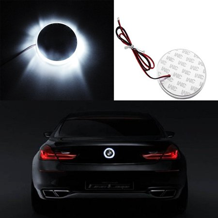 Xotic Tech 1x 82mm Ultra White Truck Hood Emblem LED Background Light lighting Kit For BMW 3 5 7 Series X3 X5 X6 (3 COLOR Available: Ultra White COLOR /