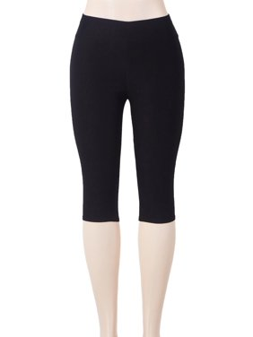 f129568e1 Product Image SAYFUT Women s Solid Color Capri Leggings High Waist Seamless  Stretchy Tights Pants Black Size S-