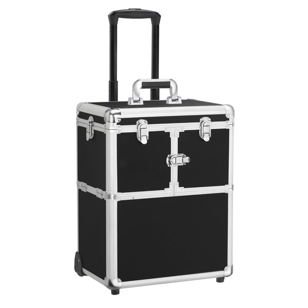 Beauty Train Case Cosmetic Organizer