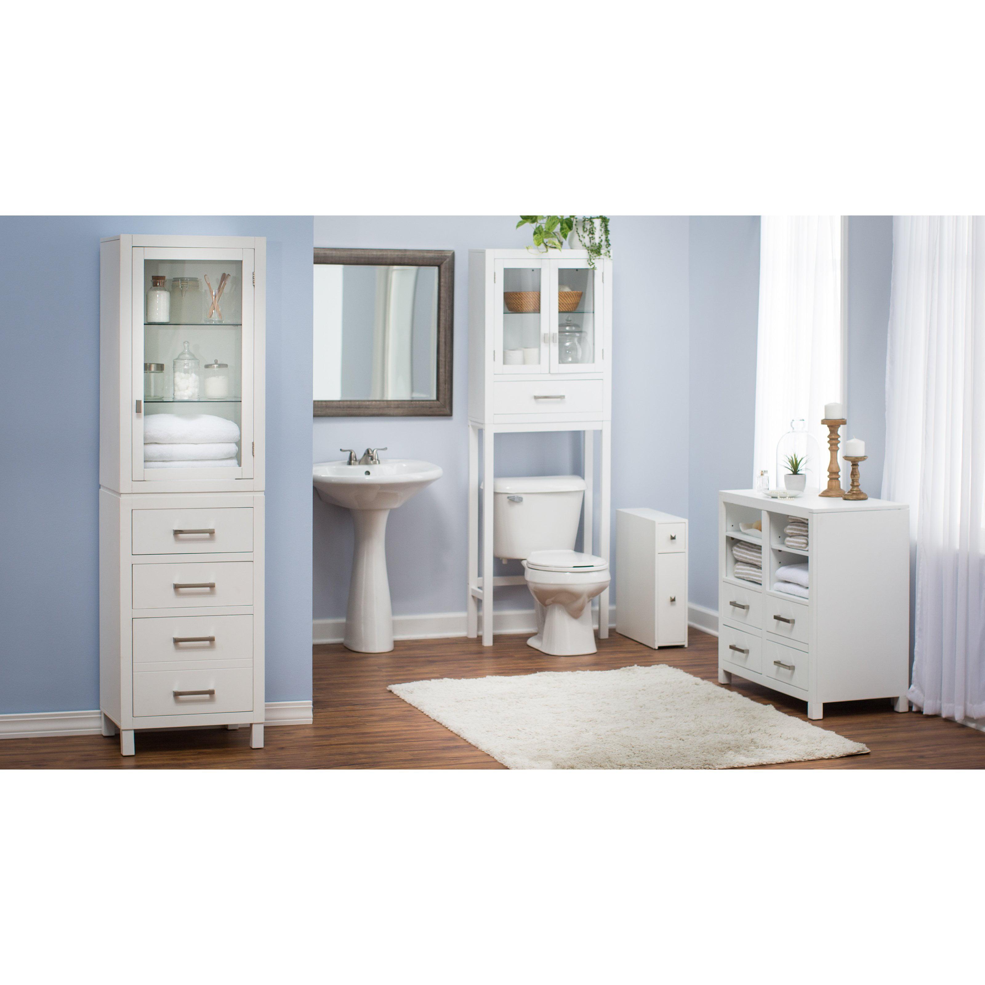 Belham Living Longbourn Narrow Bath Cabinet - Walmart.com