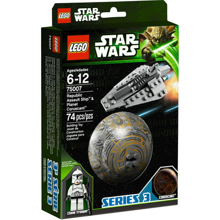 LEGO Star Wars Republic Assault Ship and Coruscant Play Set ()