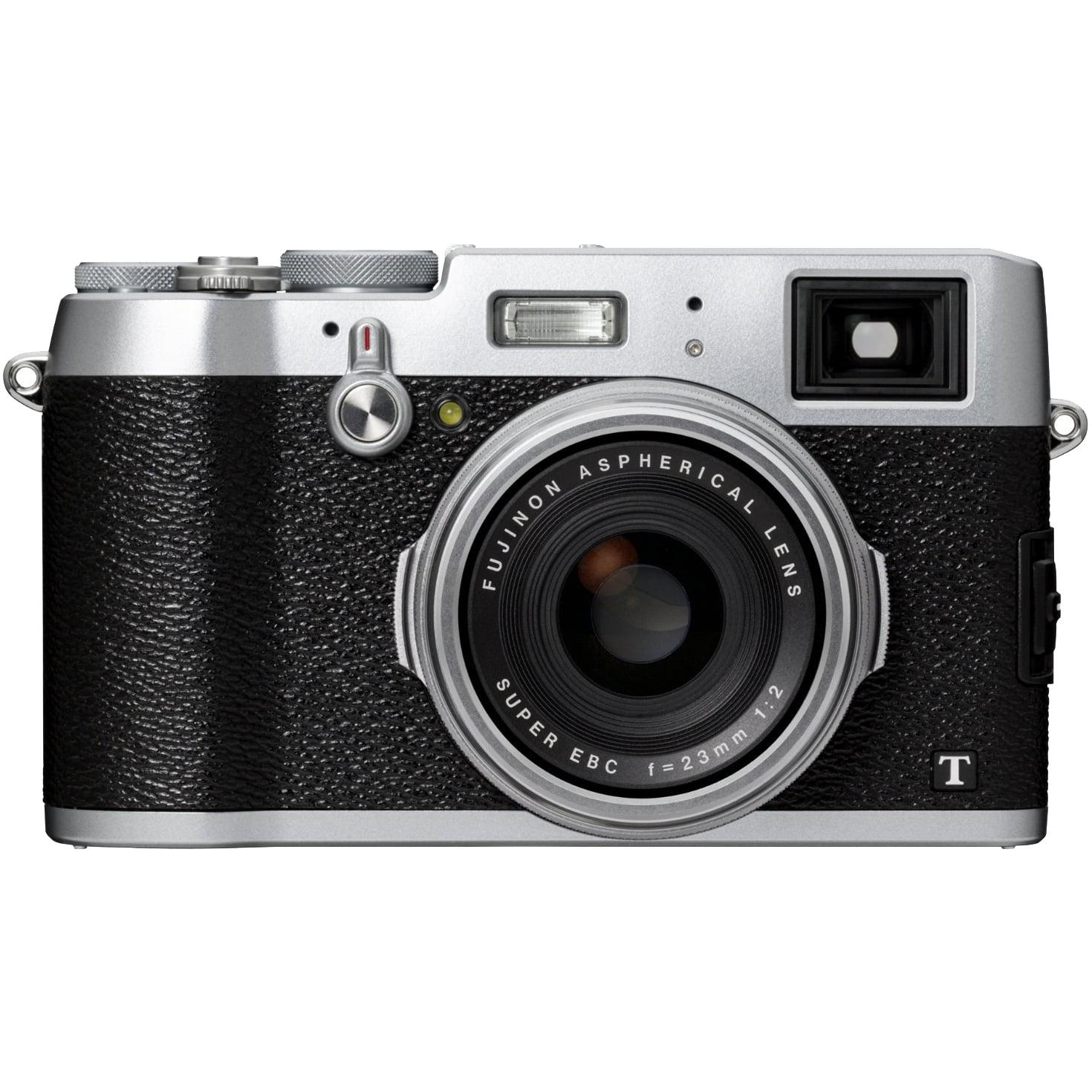 FujiFilm X100T Digital Camera (Silver) by Fujifilm