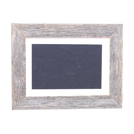 barnwoodusa 11x14 rustic photo frame with white mat fits for 8x10 photograph 100 reclaimed. Black Bedroom Furniture Sets. Home Design Ideas