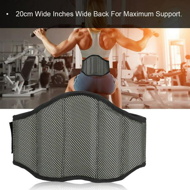Ceinture d'entraînement lombaire Higoodz, ceinture d'haltérophilie, soutien dorsal de gymnastique, entraînement puissant, douleur lombaire inférieure, ceinture d'haltérophilie large