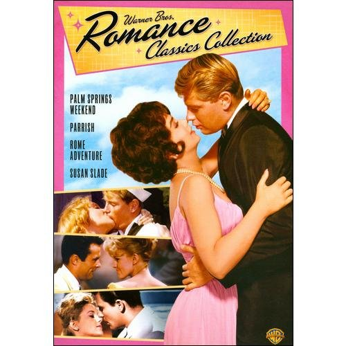 Warner Bros. Romance Classics Collection: Palm Springs Weekend / Parrish / Rome Adventure / Susan Slade (Widescreen)