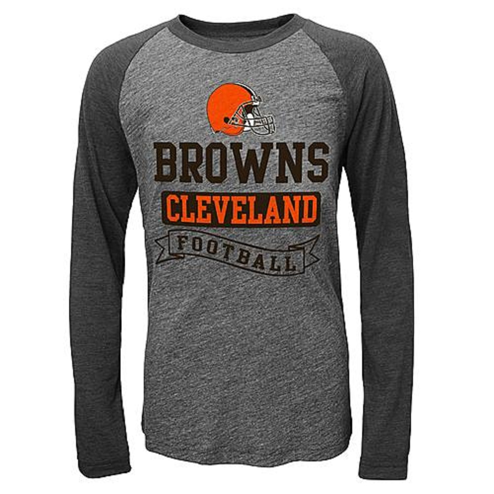 Boys' Raglan Tee-Shirt - Cleveland Browns (14-16)