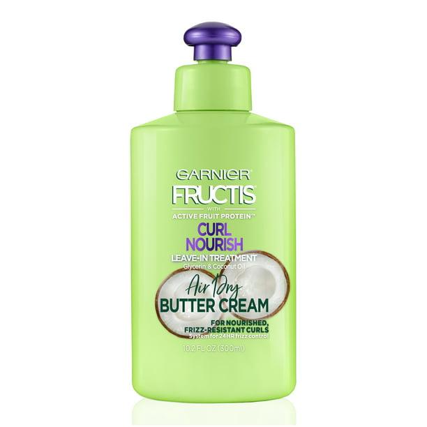Garnier Fructis Curl Nourish Leave In Conditioner With Coconut Oil 10 2 Fl Oz Walmart Com Walmart Com