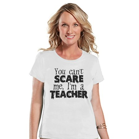 Custom Party Shop Womens I'm a Teacher Halloween T-shirt - X-Large - Hallowen Custom