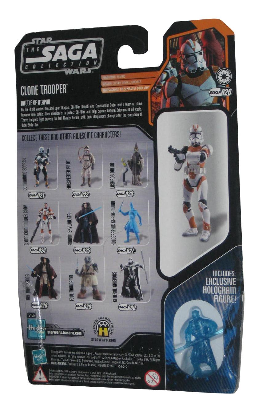 Star Wars The Saga Collection UTAPAU CLONE TROOPER *PRICE FOR 1* Brand New