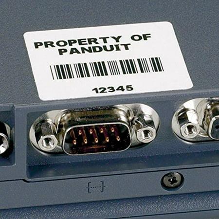 PANDUIT C075X025YLC P1 Cassette, Comp Label, Adhesive Polyes - Panduit Label Cassette
