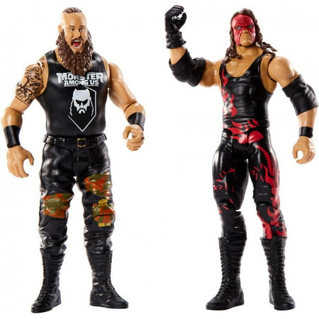 WWE Battle Pack Braun Strowman vs Kane Action Figure Set