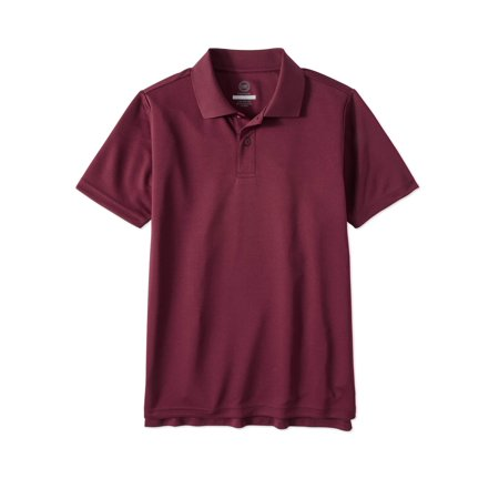 Boys School Uniform Short Sleeve Performance