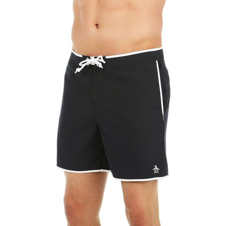 b7ae256475 Original Penguin - Original Penguin 1FRS039 Fixed Volley Earl Swim Short -  Walmart.com