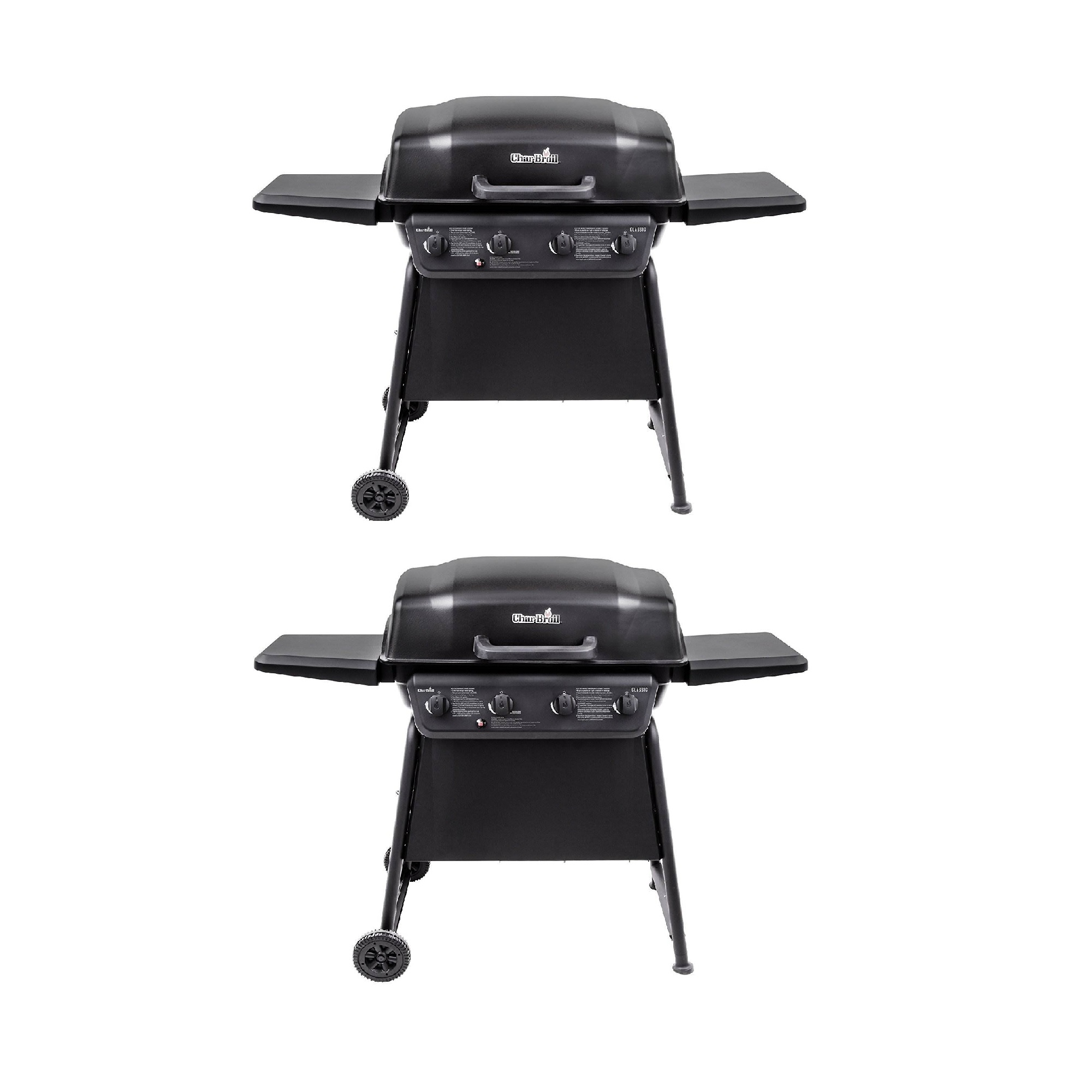 Char-Broil Classic 4 Burner Outdoor Backyard Barbecue ...