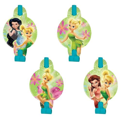 """Tinkerbell 5"""" Blowouts (8 Pack) - Party Supplies"""