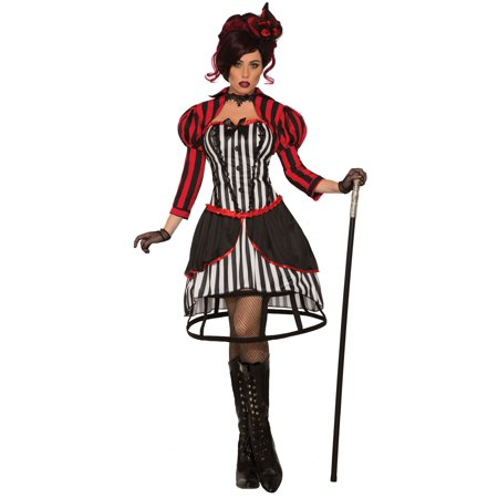 Mystery Circus Madame Costume For - Madame Vamp Costume