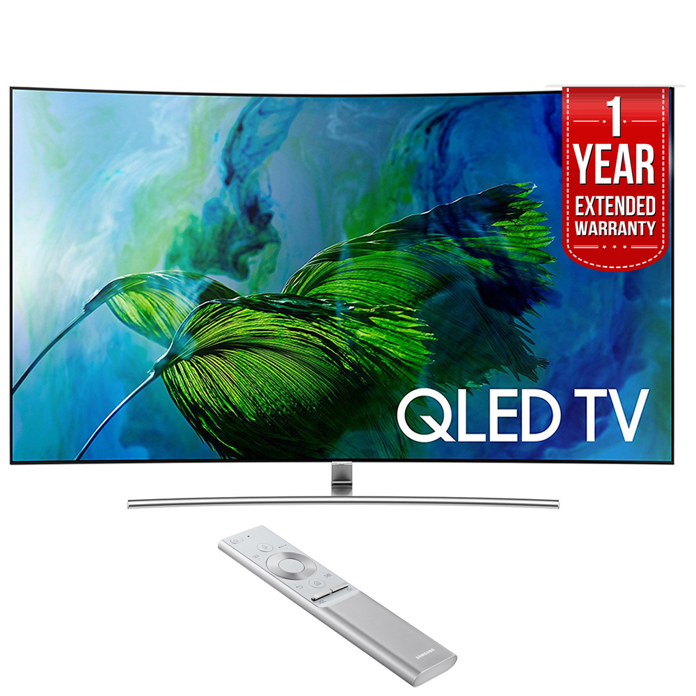 Samsung QN65Q8C Curved 65-Inch 4K Ultra HD Smart QLED TV (2017