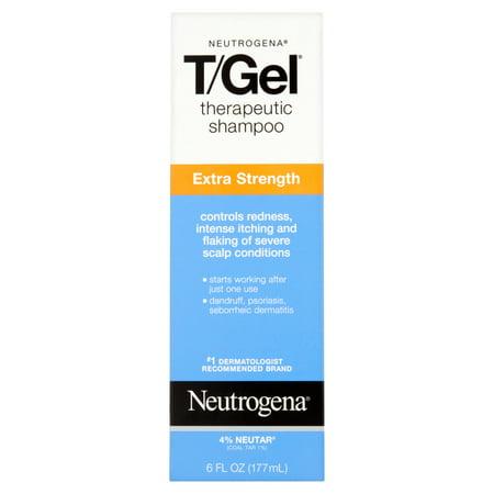 Neutrogena T Gel Therapeutic Shampoo Extra Strength  6 Fl  Oz