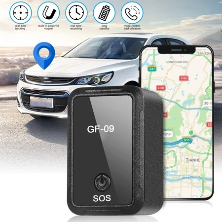 Magnetic Mini Car GPS Tracker Real Time Tracking Locator Device Voice Control Callback
